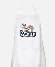 Just Call Me Bwana - BBQ Apron