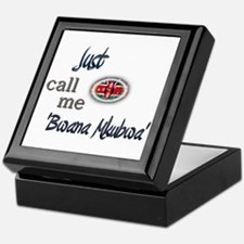 Just Call Me 'Bwana Mkubwa' Keepsake Box
