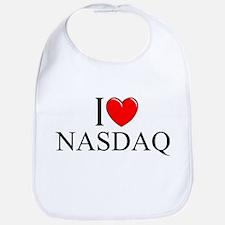 """""""I Love (Heart) NASDAQ"""" Bib"""