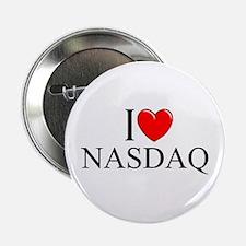 """I Love (Heart) NASDAQ"" 2.25"" Button"