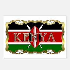 Kenya - Postcards (Package of 8)