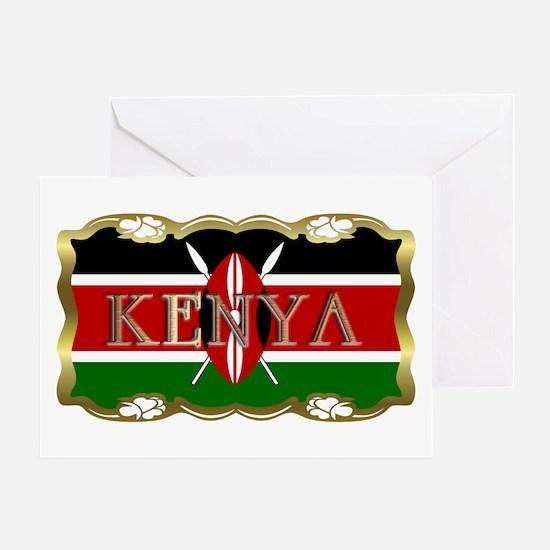 Kenya - Greeting Card