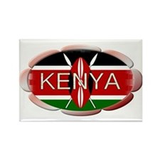 Kenya - Rectangle Magnet