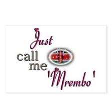 Just Call Me 'Mrembo' - Postcards (Package of 8)