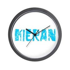Kieran Faded (Blue) Wall Clock