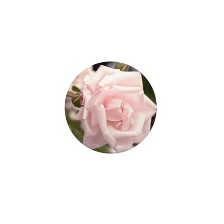 Pink Rose Mini Button (100 pack)
