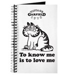 To Know Me Is To Love Me Journal