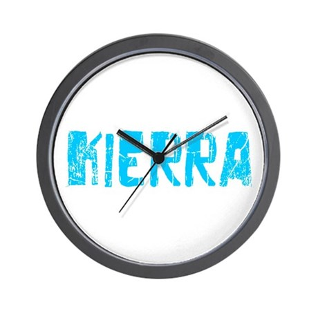Kierra Faded (Blue) Wall Clock