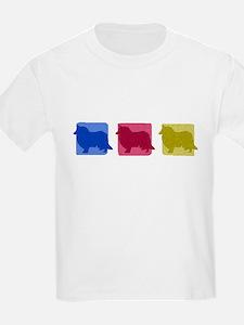 Color Row Rough Collie T-Shirt