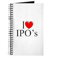 """I Love (Heart) IPO's"" Journal"
