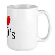 """I Love (Heart) IPO's"" Mug"