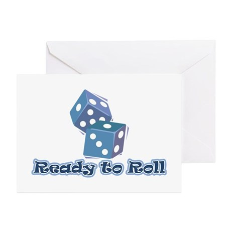 Ready to Roll Greeting Cards (Pk of 10)