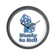 Ready to Roll Wall Clock