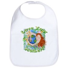 Love Your Mother Earth Bib
