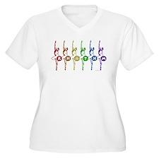 Rhythmic Gymnasts T-Shirt