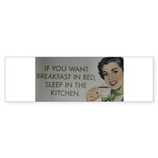 Breakfast Cards etc.. Bumper Bumper Sticker