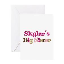 Skylar's Big Sister Greeting Card