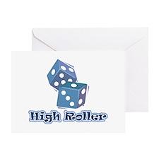 High Roller Greeting Card