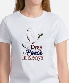 Pray for Peace in kenya - Women's T-Shirt