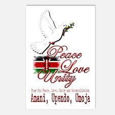 Pray for Kenya - Postcards (Package of 8)