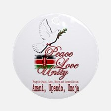 Pray for Kenya - Ornament (Round)