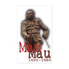 Mau Mau Hero - Rectangle Decal