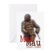 Mau Mau Hero - Greeting Card