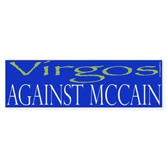 Virgos Against McCain
