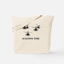 Apache AH-64d Tote Bag