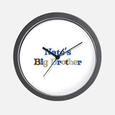 Nate's Big Brother Wall Clock