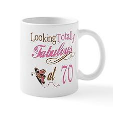 Fabulous 70th Mug