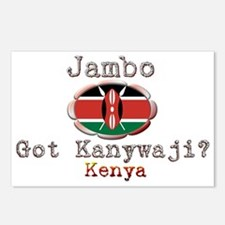 Jambo, Got Kanywaji? - Postcards (Package of 8)