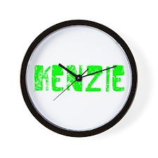 Kenzie Faded (Green) Wall Clock