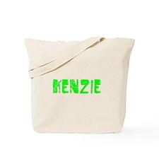 Kenzie Faded (Green) Tote Bag