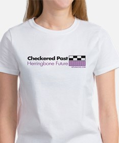 CHECKERED PAST HERRINGBONE FUTURE Women's T-Shirt