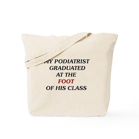 My Podiatrist Tote Bag