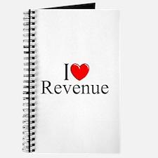"""""""I Love (Heart) Revenue"""" Journal"""
