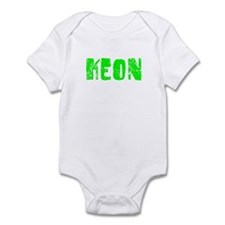 Keon Faded (Green) Infant Bodysuit