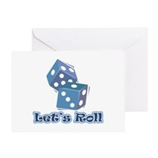 Let's Roll Greeting Card