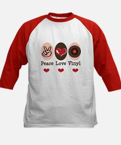 Peace Love Vinyl Record Tee