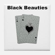 Cute Pocket rocket Tile Coaster