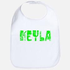 Keyla Faded (Green) Bib