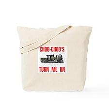 CHOO CHOO Tote Bag