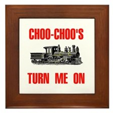 CHOO CHOO Framed Tile