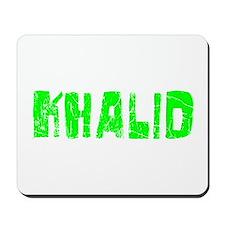 Khalid Faded (Green) Mousepad