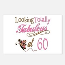 Fabulous 60th Postcards (Package of 8)
