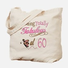 Fabulous 60th Tote Bag