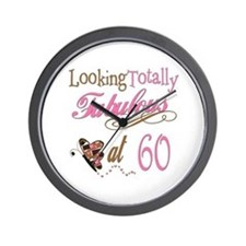 Fabulous 60th Wall Clock