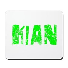 Kian Faded (Green) Mousepad