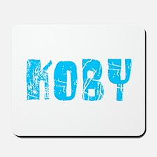 Koby Faded (Blue) Mousepad